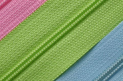 Zippers Royalty Free Stock Images