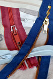 Zippers Stock Photo