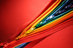 Zippers Stock Photo