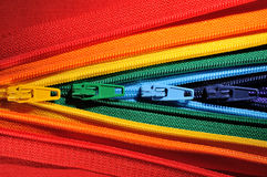 Zippers Fotografia de Stock Royalty Free