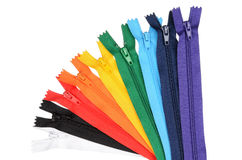 Zippers Stock Photography