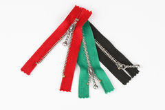 Zippers Royalty Free Stock Image