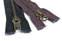 Zippers Stock Image