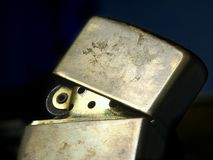 Zippo lighter I Royalty Free Stock Photography