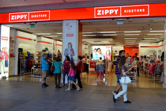 Zippy Kids store Royalty Free Stock Photography