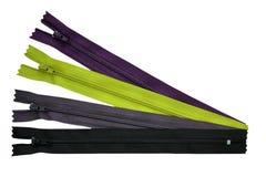 Zips/zippers Stock Photo