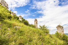 Zipser Castle Spissky hrad Slovakia unesco world heritage attractions. Travel Europe royalty free stock image