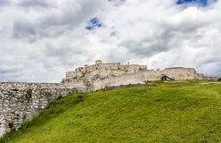 Zipser Castle Spissky hrad Slovakia unesco world heritage attractions. Travel Europe royalty free stock photo