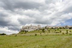 Zipser Castle Spissky hrad Slovakia unesco world heritage attractions. Travel Europe stock image