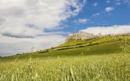 Zipser Castle Spissky hrad Slovakia unesco world heritage attractions. Travel Europe stock photos