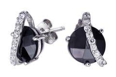 zircon gemstones больших серег дорогий Стоковое Фото