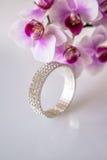 Zirconium bracelet Stock Photography