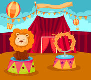 Zirkus Stockfoto