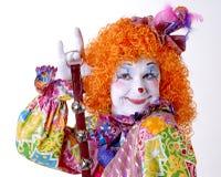 Zirkus-Clown Stockfoto