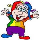 Zirkus-Clown Lizenzfreie Stockbilder