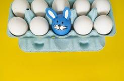 zirkus Das Konzept von Ostern mit den netten und netten handgemachten Eiern Stockbilder