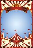 Zirkus des blauen Himmels stockbild