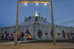 Zirkus gestaltet in einem Rahmen Lizenzfreie Stockfotos