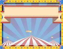 Zirkus-Hintergrund-Landschaft Lizenzfreie Stockbilder