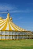 Zirkus mit australischer Markierungsfahne Stockfoto