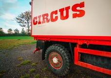 Zirkus - nomadische Künstler stockfotos