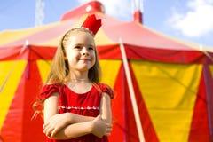 Zirkus-Prinzessin lizenzfreies stockbild