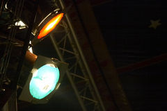 Zirkus spotlicht Lizenzfreies Stockbild
