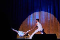 Zirkus-Unterhaltungsshow 'Romantics', am 21. Februar 2016 in Minsk, Weißrussland Lizenzfreie Stockbilder
