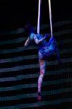 Zirkus-Unterhaltungsshow 'Romantics', am 21. Februar 2016 in Minsk, Weißrussland Stockfoto