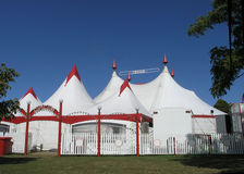 Zirkus-Zelt Lizenzfreie Stockfotos