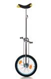Zirkusausrüstung - Unicycle Stockfotografie