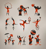 Zirkuskünstler Lizenzfreie Stockbilder