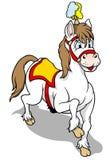Zirkuspferd Stockfotografie