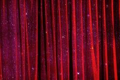 Zirkusvorhang-Hintergrundbeschaffenheit Lizenzfreies Stockbild