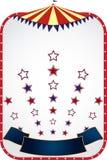 Zirkuszelthintergrund Stockbilder