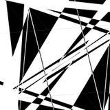 Zirytowany, przypadkowy artystyczny skład geometryczni kształty, ilustracji
