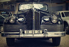 ZIS 110 B old car. Image old car which one be produce 1952 royalty free stock image