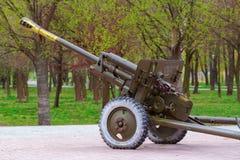 ZIS-3 cannon Stock Image