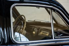 ZIS 110, carro retro de URSS fotos de stock
