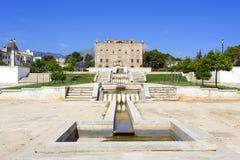 Zisa kasztel w Palermo, Sicily Włochy Zdjęcia Royalty Free