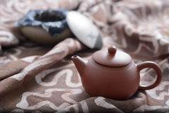 Zisha teaset Royalty Free Stock Images