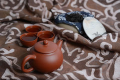 Zisha teaset Stock Photography