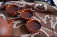 Zisha teaset Stock Photos