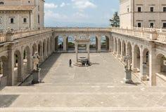 Zisterne im Kloster von Bramante, Benediktinerabtei von Montecassino Italien Lizenzfreie Stockfotos