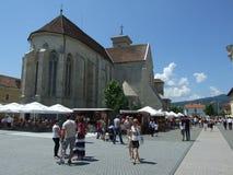 Zitadelle alba-Iulia stockfotos