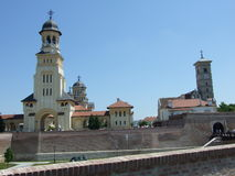 Zitadelle alba-Iulia lizenzfreie stockbilder