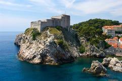 Zitadelle in Dubrovnik lizenzfreie stockfotos