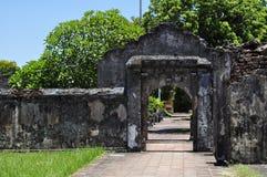 Zitadelle-Gatter Stockbild