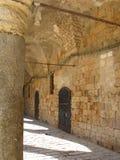 Zitadelle im Morgen, Israel Lizenzfreies Stockbild