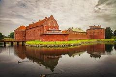 Zitadelle in Landskrona stockbilder